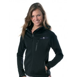 Maui Magic Bruna Softshell Jacket Black