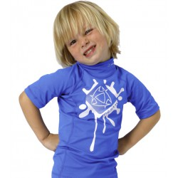Mystic Star Kids Rash SS Blue