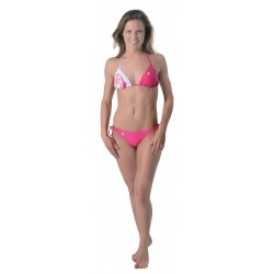 Maui Magic Palm Bikini Hot Pink