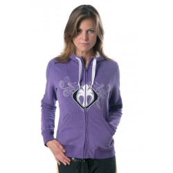 Maui Magic Zip Sweater Purple