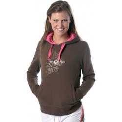 Maui Magic Aloha Sweater Brown