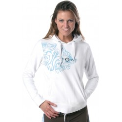 Maui Magic Aloha Sweater White