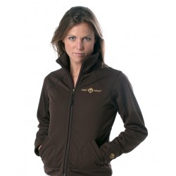 Maui Magic Power Softshell Jacket Brown
