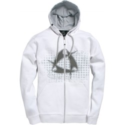 Mystic Star Hooded Zip Bright White