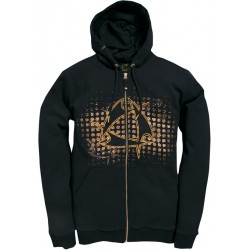 Mystic Star Hooded Zip Moonless Night