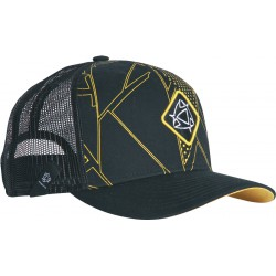 Mystic Tricky Trucker Cap Yellow