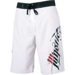 Mystic Backflash Boardshort White