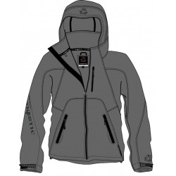 Mystic Mission Softshell Jacket  Grey