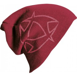 Mystic Oversize Beanie Red