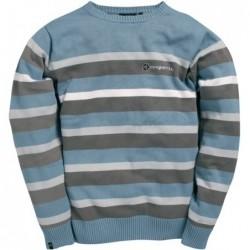 Mystic Swell Crew Knit  Blue