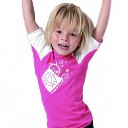 Mystic Star Kids Rash SS Pink