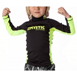 Mystic Star Kids Rash LS Black